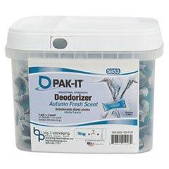 Industrial-Strength Deodorizer, Autumn Fresh, 100 PAK-ITs/Tub