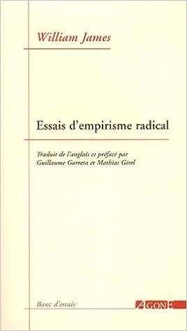 En ligne téléchargement Essais d'empirisme radical pdf