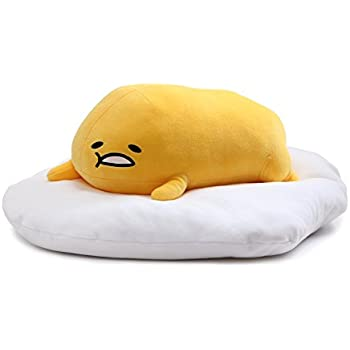 "Amazon.com: GUND Gudetama ""Lazy Sitting Pose"" Stuffed Animal ..."