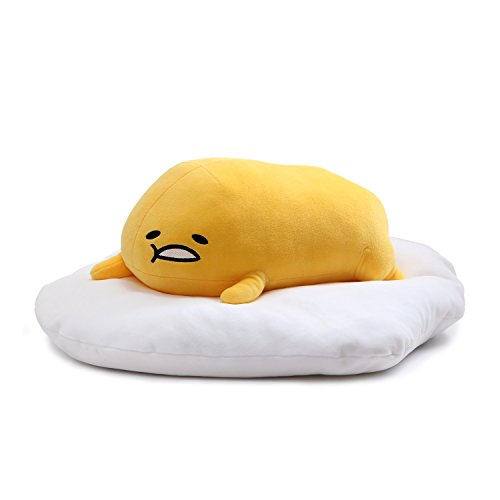 "GUND Gudetama ""Lazy Laying Down Pose"" Stuffed Animal Plush, 17"" from GUND"