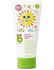 Babyganics Baby Sunscreen Lotion, SPF 50, 6oz Tube (Pack of 2)