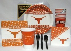 Texas Longhorns Party Supplies Pack #1