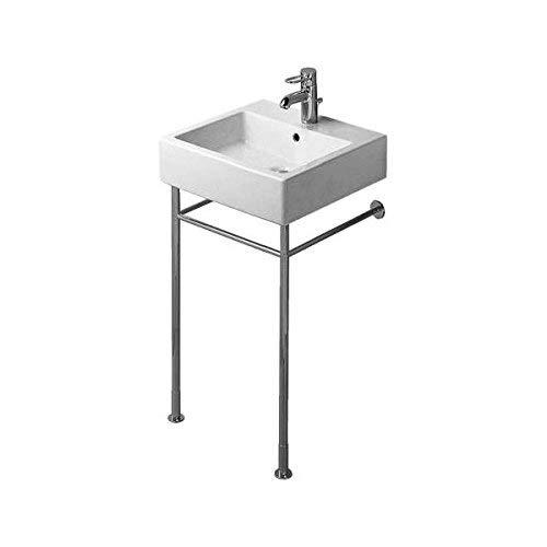 Duravit Vero Console - Duravit 0030651000 Metal Console for Console Sinks, Chrome