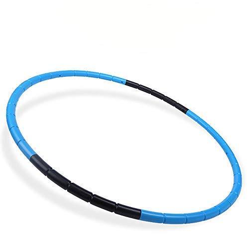 Kids Hula Hoop Body Building Plastic Children Gymnastics Toys, Diameter 25 inch,Blue