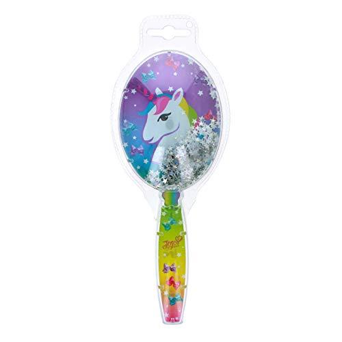 JoJo Siwa Girls Hair Brush Confetti Sparkle Glitter Handle Hair Styling Unicorn