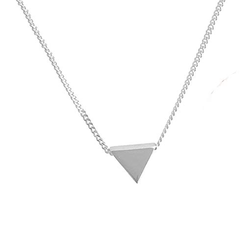 Amkaka Minimalist Sterling Geometric Necklace product image