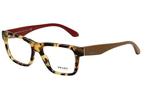 Prada VPR16R 7SO/101 Eyeglasses Tortoise Square -