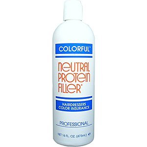 COLORFUL Neutral Protein Filler Hairdressers Color Insurance 16 oz/473 ml by Colorful Products by Colorful Products