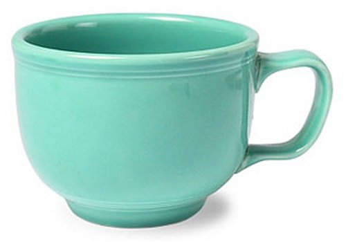 Fiesta 18-Ounce Jumbo Cup, Turquoise (Coffee Cup Turquoise)