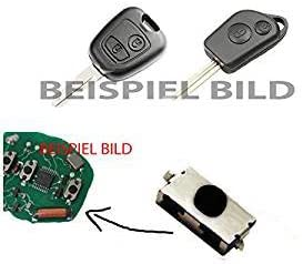 3x Für Citroen C1 C2 C3 Xsara 2 Saxo Berlino Fernbedienung Funkschlüssel Schlüssel Mikroschalter Smd Taster Microschalter Auto