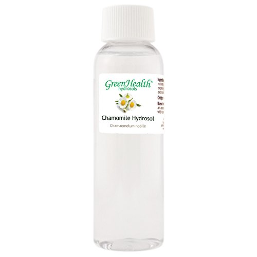 Chamomile Hydrosol - 2 fl oz Plastic Bottle w/Cap - 100% pure, distilled from essential oil - Hydrosol 2 Oz Bottle