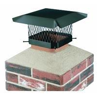 Shelter SC99 Galvanized Steel Chimney Cap, Fits Outside Tile, 9' x 9'
