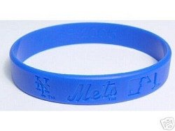 New York Mets Wristband Mets Rubber Bracelets