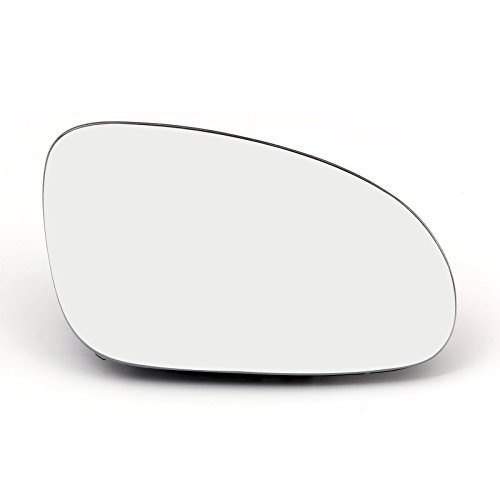Areyourshop Door Mirror Right Side Glass Heated W/Holder For VW Golf GTI Jetta MK5 Passat B6