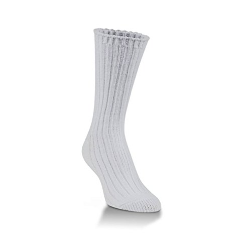 World's Softest Ragg Collection Crew Length Womens Socks - One Size Fits Most (Purity) (Purity Collection)
