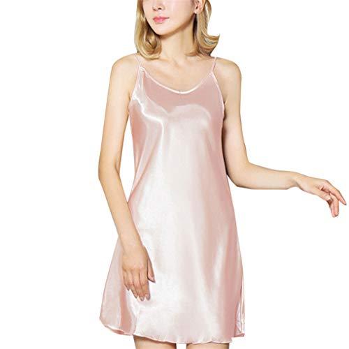 cd30fd2a86e Women Lingerie Nightwear Dress WANQUIY Lingerie Sleepwear Satin Temptation  V Neck Mesh Plus Size Underwear Intimates
