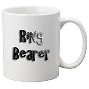 Ring Bearer - 11oz Mug, Great Novelty Mug, Celebrate Your Wedding In Style. Great Wedding Accessory.