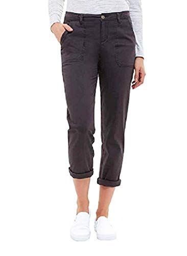 Jones New York Ladies' Chino Pant, (Variety) (8, Charcoal)
