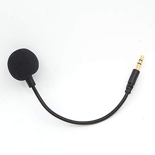 Replacement 3.5mm Game Mic Boom 4 Turtle Beach Ear Force XO ONE Stealth 420X Recon 320 Z60 for Microphone Boom for Xbox One PS4 Nintendo Switch Mac PC Computer Gaming Headphones ()