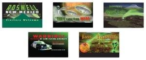 Alien Invasion Set (Lionel Alien Invasion Billboard Train Set)