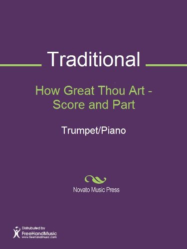 How Great Thou Art - Score and Part Sheet Music (Score and Part)