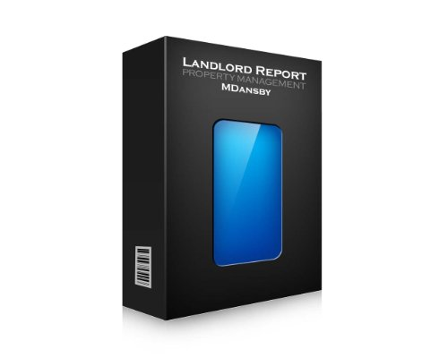 Property Management Software - Landlord Report (MAC/WIN) - Unlimited Units (Lease Agreement Software)