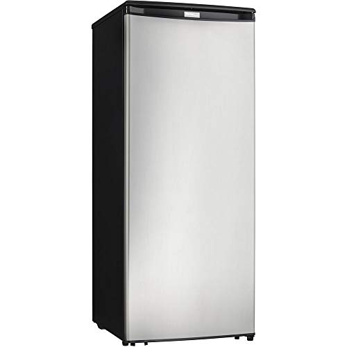 Danby Designer Energy Star 8.5-Cu. Ft. Upright Freezer with Spotless Steel Door (Best Small Upright Freezer)
