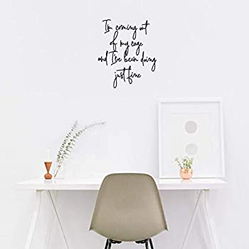 Vinyl Wall Art Decal - I'm Coming Out of My Cage - 20