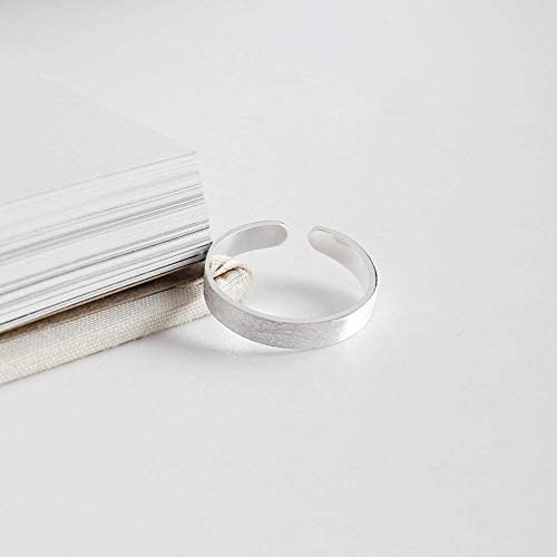 Dixinla Ring verstellbar, S925 Reines Silber Mode