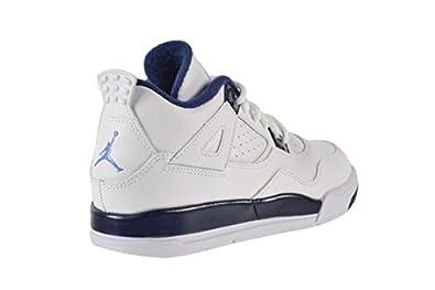 bbfb438adf9414 ... look at the remastered air jordan 4 retro columbia 893ed a9276 sale  amazon jordan 4 retro columbia ls bp little kids shoes white legend blue  midnight ...