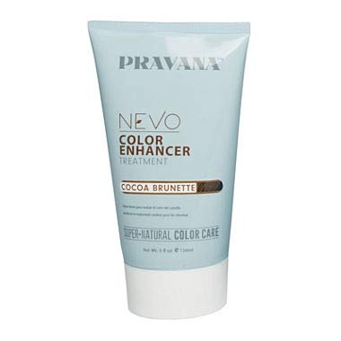 Nevo Color Enhancer Treatment Cocoa Brunette By Pravana (5 Oz.) (Best Hair Color For Greying Brunettes)