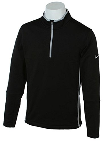 手入れ過敏な関税NIKE ナイキ ゴルフジャケット 16FH THERMA-FIT カバーアップ ミッドレイヤー Mサイズ(163-175cm) 国内正規品 689292 ブラック