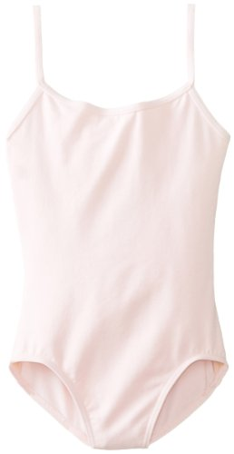 Capezio Ballet Camisole - Capezio Big Girls' Classics Camisole Leotard with Adjustable Straps, Pink, Intermediate
