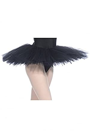 Roch Valley PTPAR' Parisienne Tutu Skirt Black Age 3-4 98-104cm (