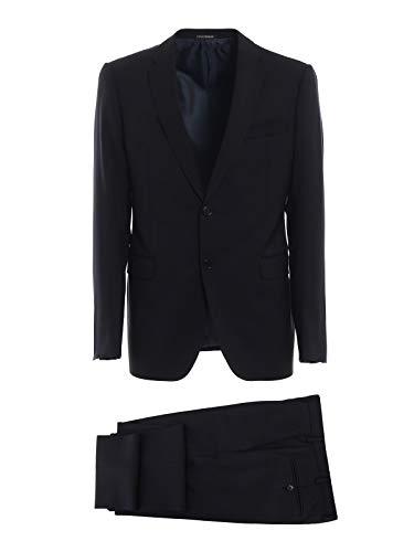 Emporio Armani Men's 11Vmet01503926 Grey Wool Suit