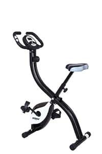 STRIALE SV 312 - Bicicleta plegable magnético, Negro / Blanco