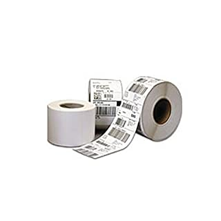 CognitiveTPG Direct Thermal Tags (7.5 mil, 2.4 inch x 1.0 inch - Hole Punched, Notch Index - 1,500 Tags/roll, 12 rolls/case) 03-02-1785