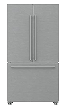 Counter Depth French Door Refrigerator With Ice Maker And