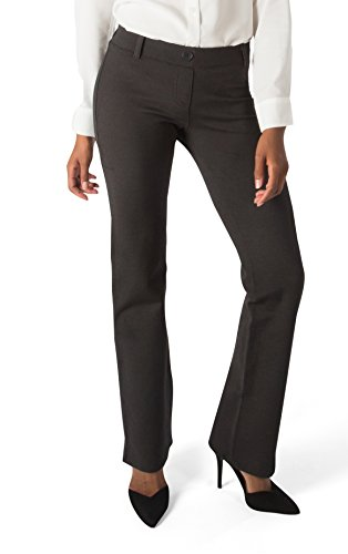 8a6851a224 Betabrand Women's Dress Pant Yoga Pants (Straight-Leg) – SoCutsy… An ...