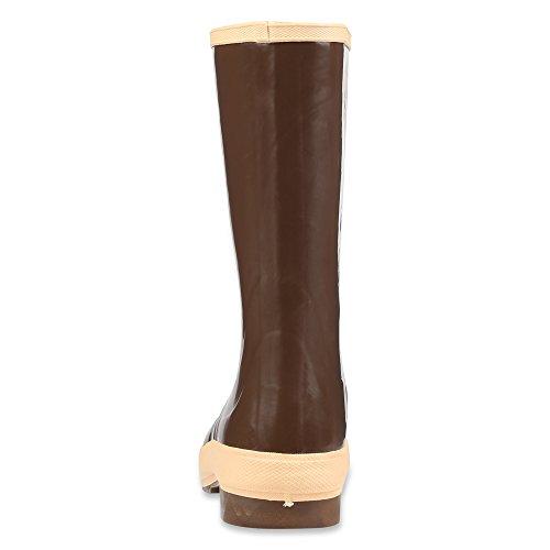 Servus 15,2cm Neopren Stahlkappe Herren Arbeits-Stiefel mit neo-grip Außensohle, Kupfer & Tan (22103), 22148-CTM-070
