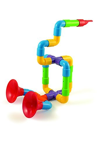 Discovery Toys Pipe Works Musical Instrument Builder by Discovery Toys