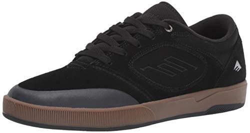 Emerica Men's Dissent Skate Shoe, Black/Gum, 11.5 Medium US