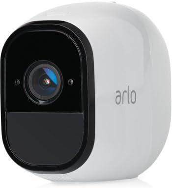 Oferta amazon: Arlo VMS4130-100EUS Pro - Sistema de seguridad y vigilancia de 1 cámara sin cables con estación base y sirena (recargable, interior/exterior, visión nocturna, audio bidireccional, visión 130º)