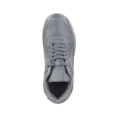 Alla Unisex L grey moda Dk Sport turnschuhe corsa chunkyrayan Sneaker Donna Bambini da Scarpe Uomo a UrUF6xw5nq