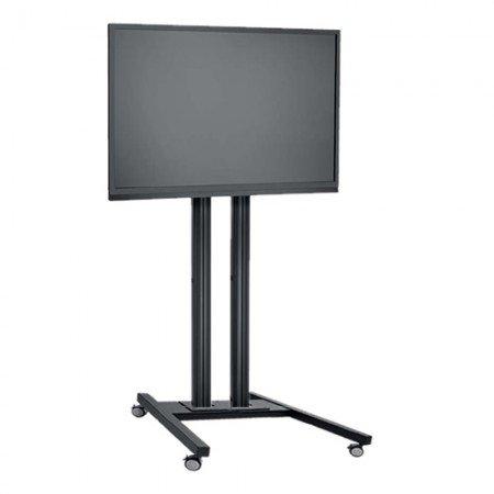 LCD LED TV Standfuß Trolley für Displays bis 65 Zoll 180 cm