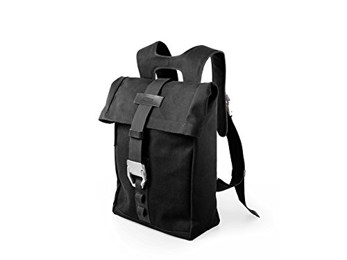 Brooks England Islington Rucksack, Black/Black by Brooks England