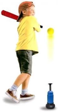 set da allenamento LANCIAPALLE GIOCO BASEBALL per bambini 3 PALLE MAZZA