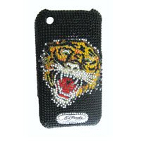 3g Faceplate (Ed Hardy Iphone 3g/3gs Tatto Faceplate-)