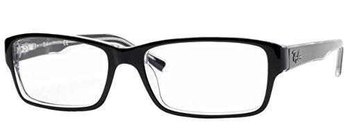 Ray Ban Rx5169 Brillen Glanzend Zwart Frame