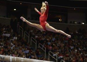 Nastia Liukin 11X17 Poster Photo - 2008 Olympic Gymnast #39